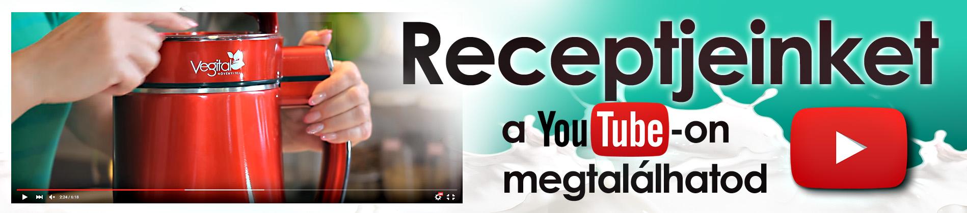 Youtube receptek